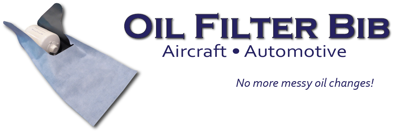 OIL FILTER BIB for aircraft and automotive